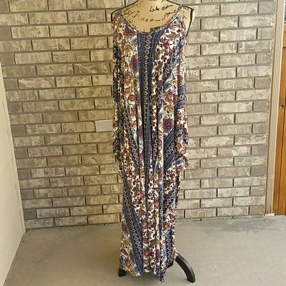 6c003233418 Pretty young thing oversized maxi dress flattering